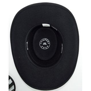 Twister Gambler Black Gambler Crushable Hat 7211801