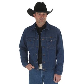 Wrangler WRANGLER® COWBOY CUT® UNLINED DENIM JACKET 74145PW