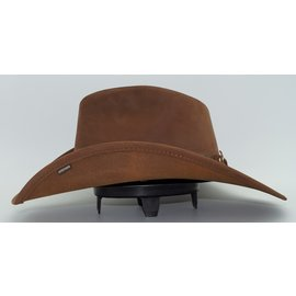 Stetson Stetson Roxbury Shapeable Leather Western Hat
