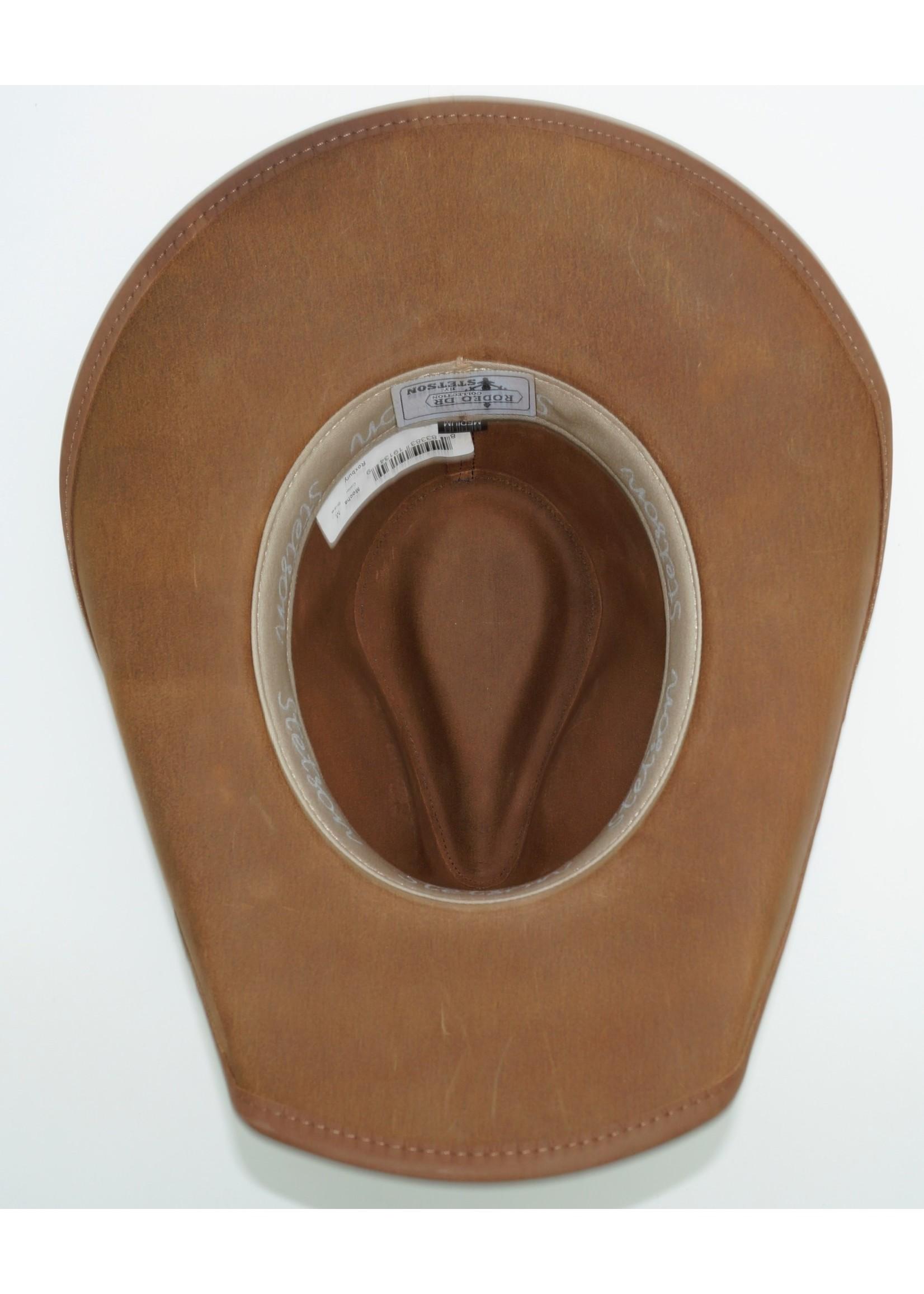 Stetson Stetson Roxbury Shapeable Leather Western Hat