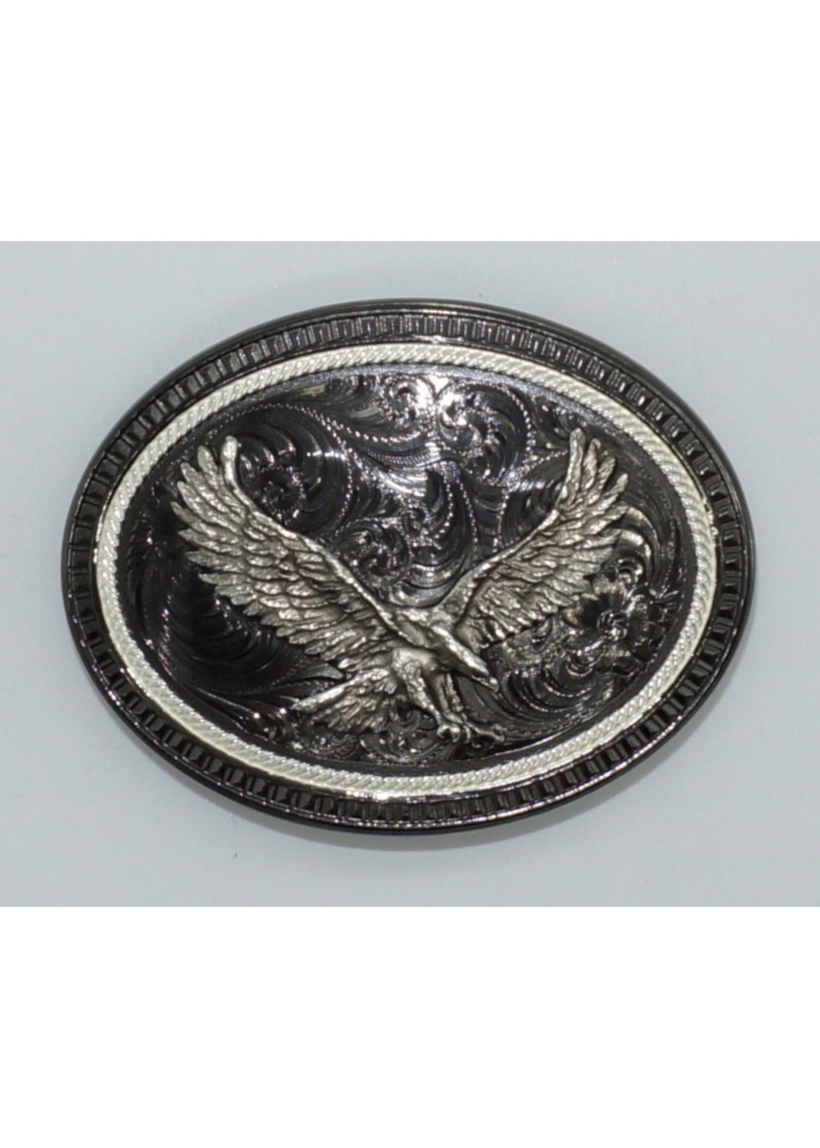 Montana Silversmiths Black Nickel-Silver Eagle