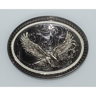 Montana Silversmiths Black Nickel-Silver Eagle