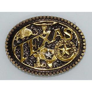 Montana Silversmiths Texas Seal Oval /2 Tone