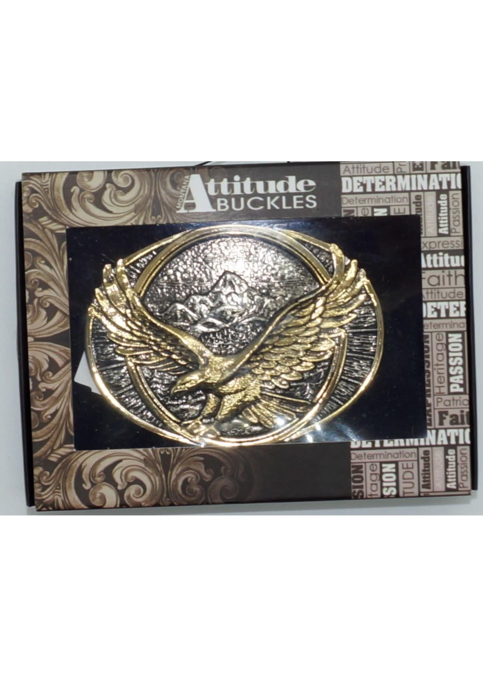 Montana Silversmiths 60791P- Soaring Eagle / 2-Tone
