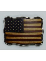 Nocona 37040-Rope Edged U.S.A Flag