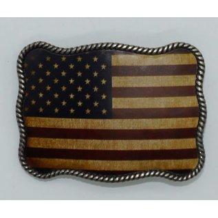 M&F 37040-Rope Edged U.S.A Flag
