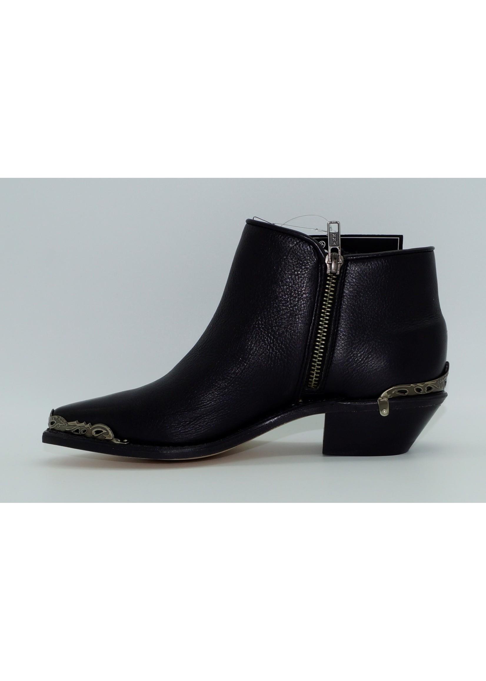Sage Women's Black Snip Toe Demi-Boots 4565
