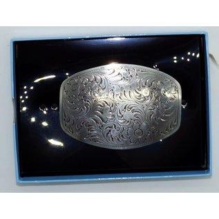 Nocona 37238- Silver / Flowers