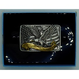 Nocona 37015- Eagle / God Bless America