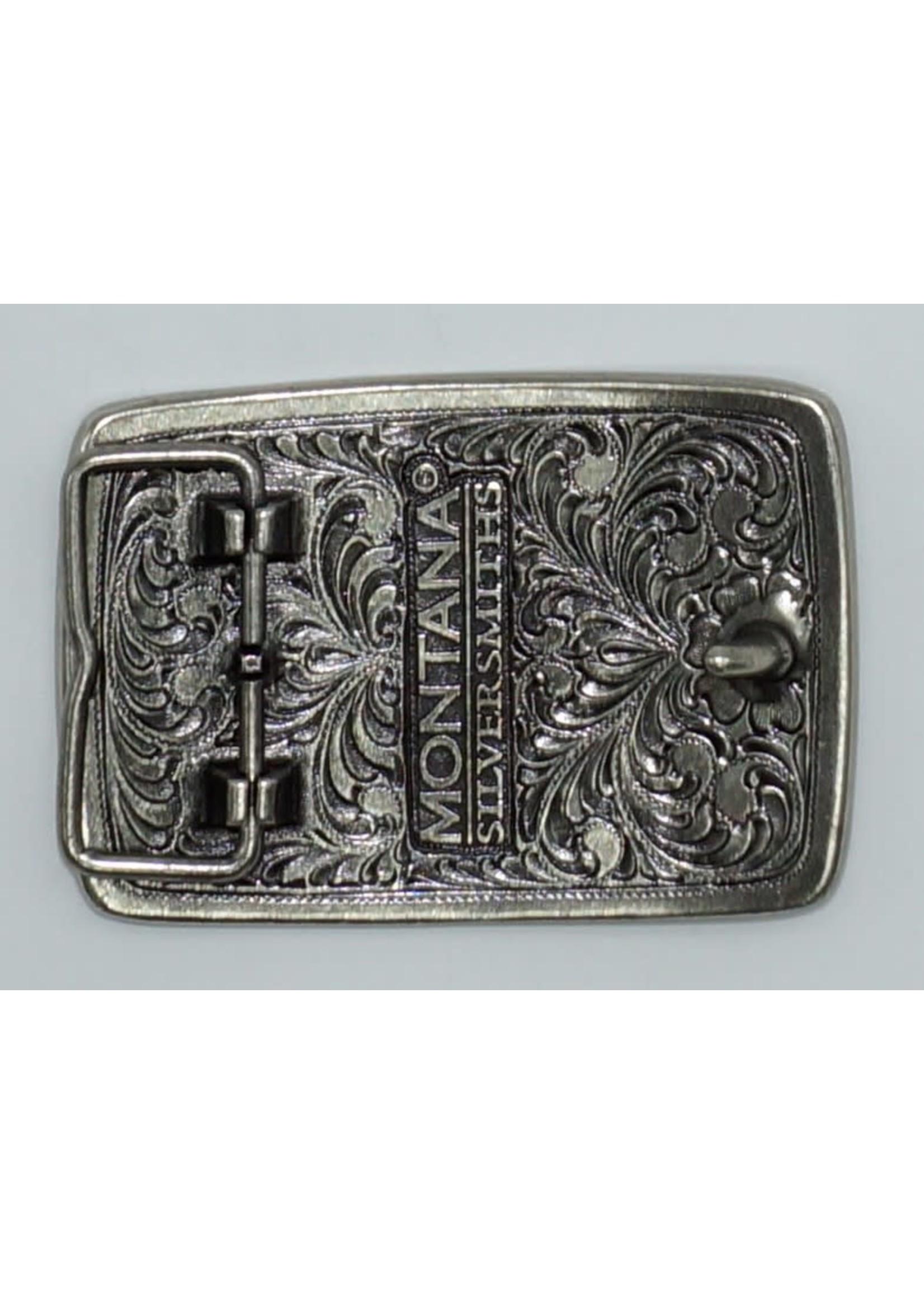 Montana Silversmiths A566- Bead Edge Antq Silver Eagle