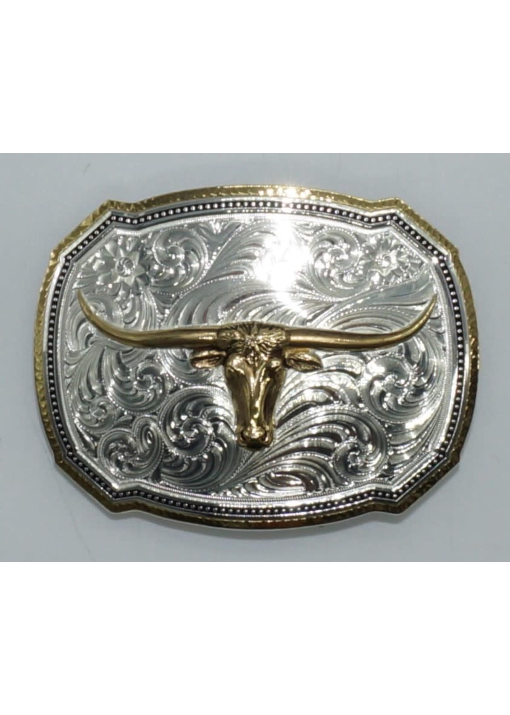 Montana Silversmiths 30518-767 /  Longhorn Steer