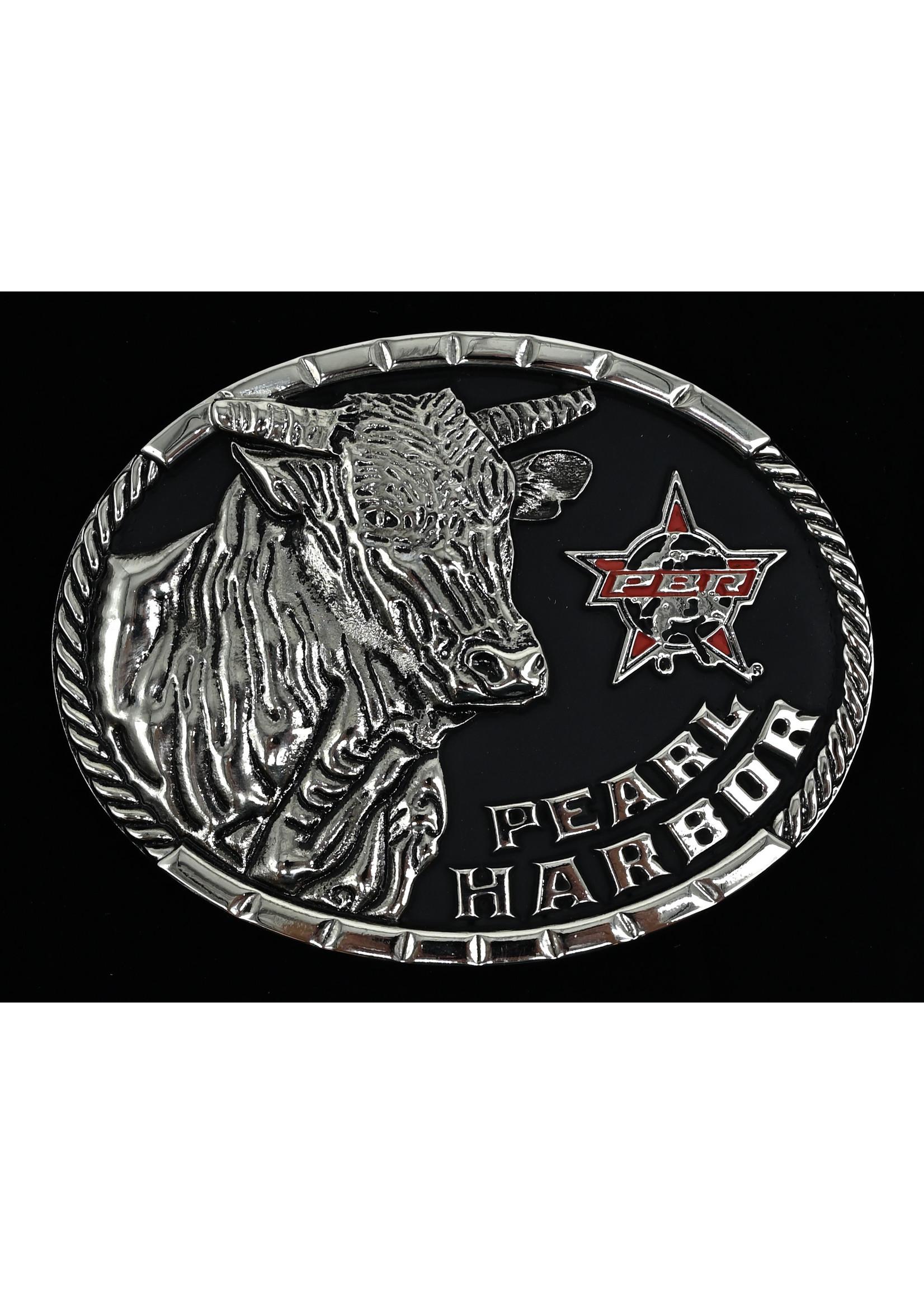 Montana Silversmiths PBR1805- Pearl Harbor Bull