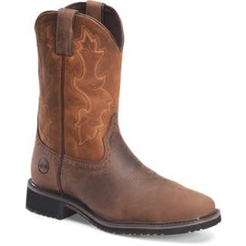 """Double H 11"""" Wide Square Comp Toe Roper DH5135"""