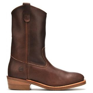 Double H Men's Steel Toe 2655 Cowboy Pull-On Work Boots