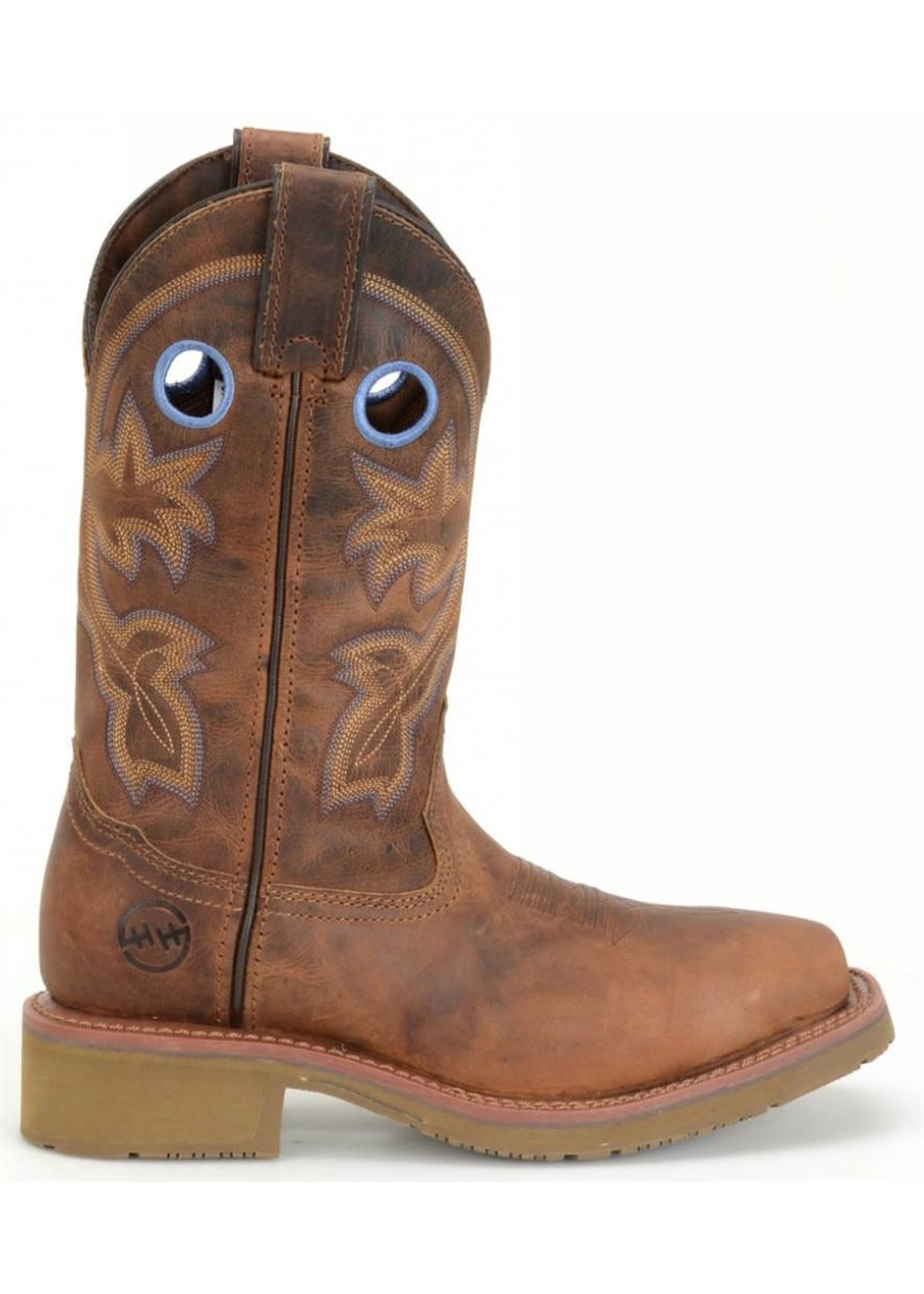 """Double H Women's 11"""" Wide Square Toe ICE™ Roper DH2410"""