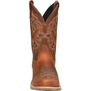 """Double H Men's 11"""" Domestic Wide Square Steel Toe Work Western DH5628"""