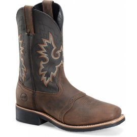 "Double H Men's 11"" Wide Square Toe Roper DH4258"