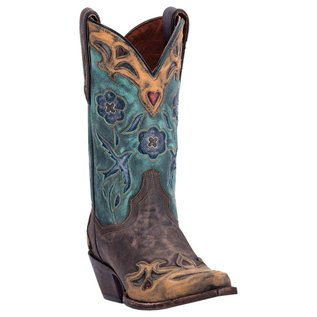 Dan Post Women's Vintage Blue Bird Western Boot DP3544