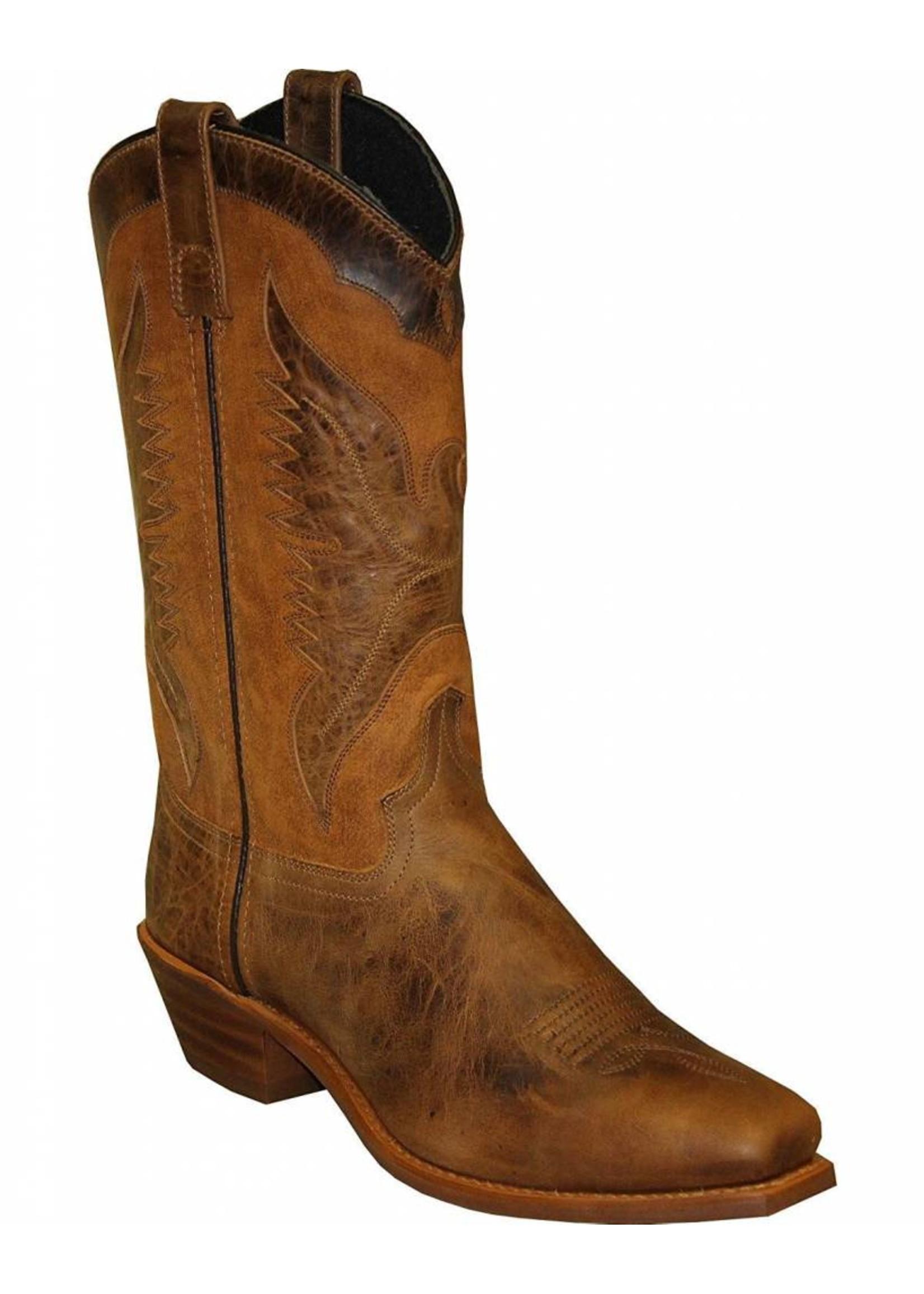 "Sage Women's Sage 11"" Eagle Underlay Western Boot Square Toe - 4541"