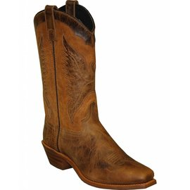 "Sage Women's Sage 11"" Eagle Underlay Western Boot Square Toe - 4541"