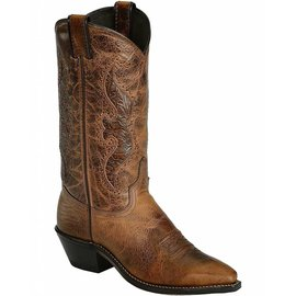 Abilene Women's Hand Tooled Inlay Cowgirl Boot Snip Toe - 9141