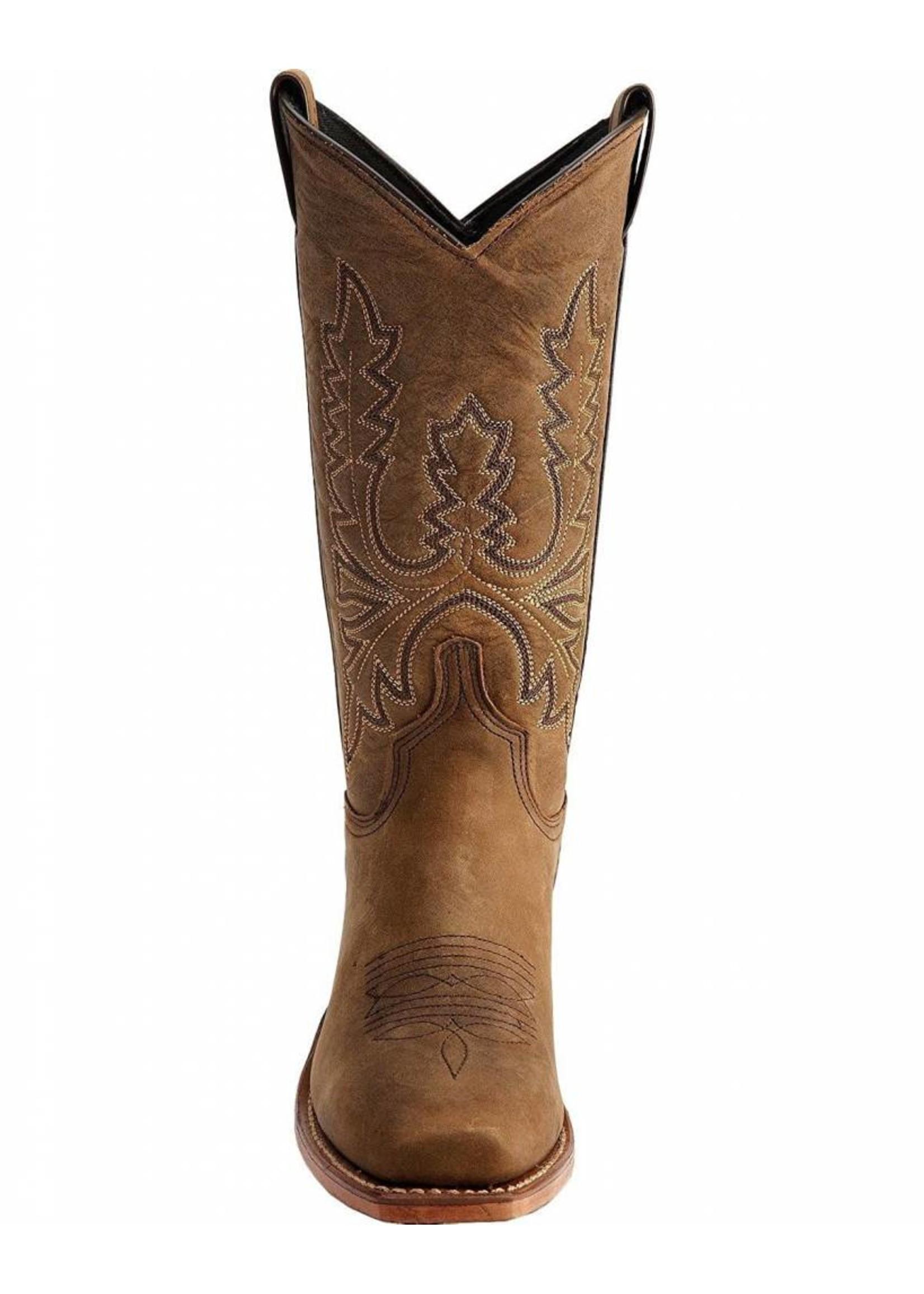 Abilene Women's Oiled Cowhide Cowgirl Boot Square Toe - 9011