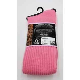 Dan Post Womens Socks Over Calf 7-9.5 Pink