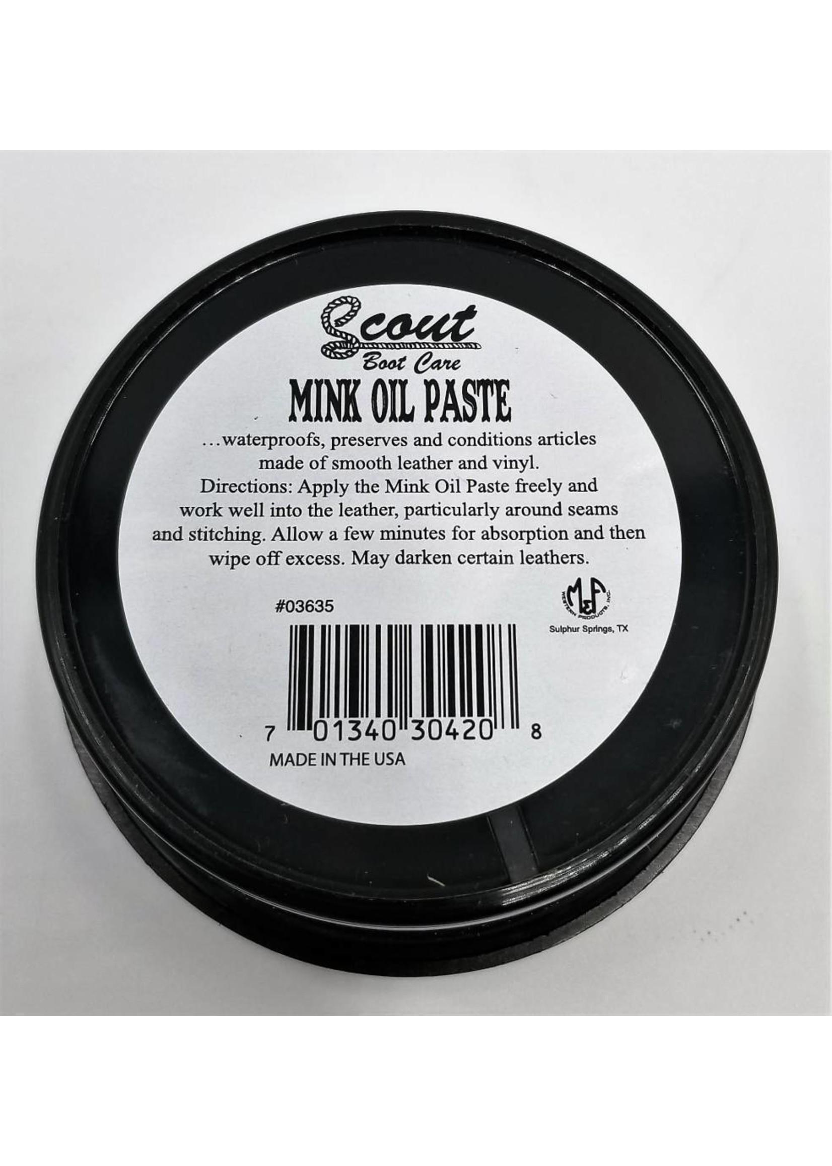 Scout Mink Oil Paste 6oz