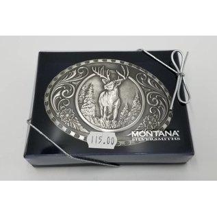 Montana Silversmiths Stag Silver