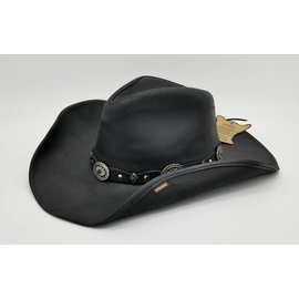 Stetson Stetson Roxbury Shapeable Leather Western Hat TRROXB8434