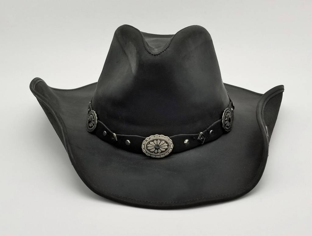 fc5487da7 Stetson - Stetson Roxbury Shapeable Leather Western Hat TRROXB8434