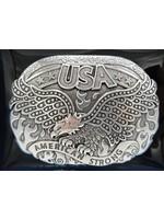 Nocona America Strong Soraring Eagle Belt Buckle 37122