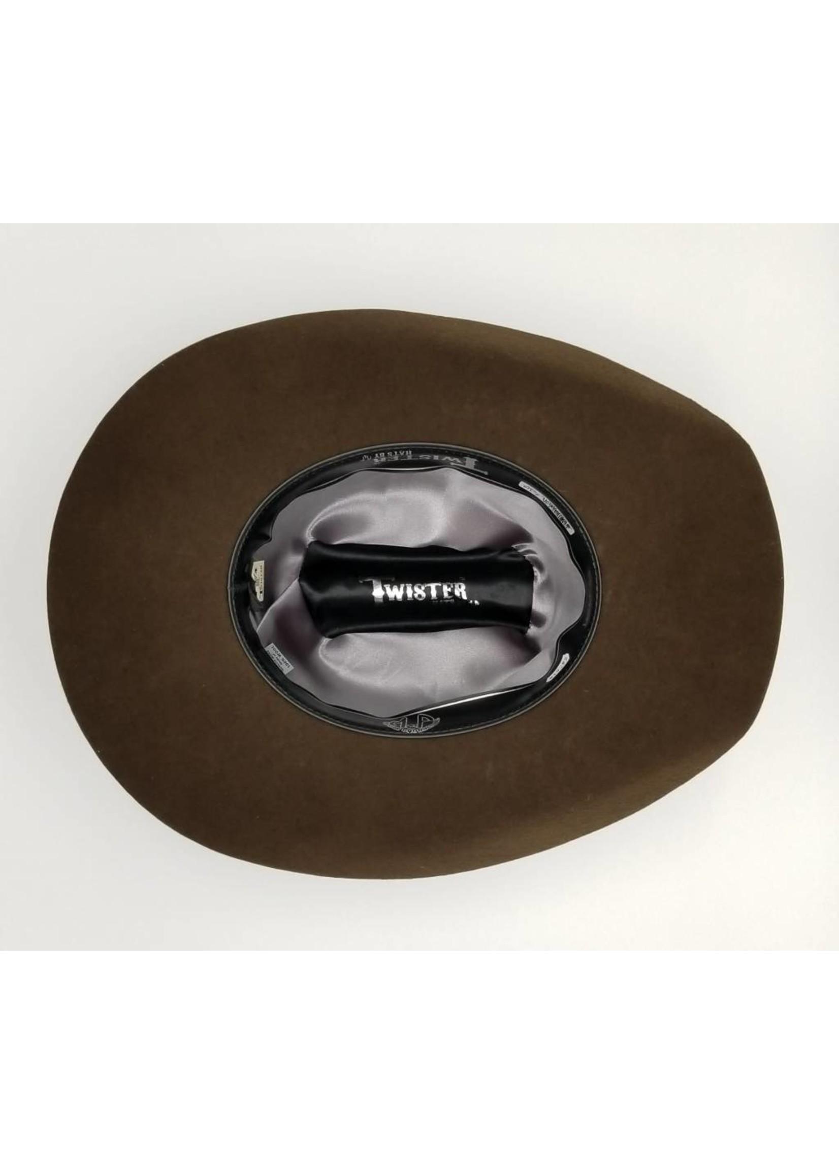 M&F Twister Laredo Brown Cattleman Crease T7532047