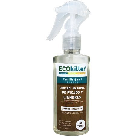 Control Natural Anti-piojos 4 en 1  Ecokiller 125 ml.