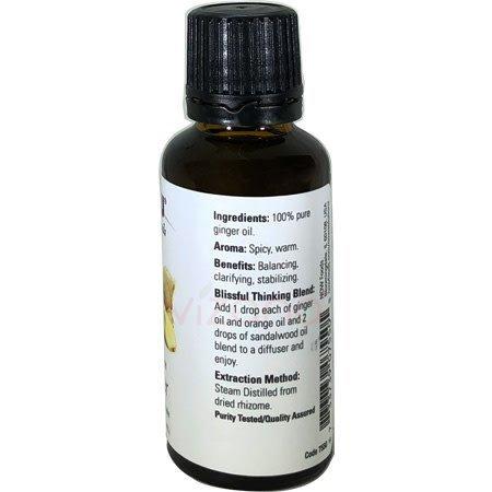 Aceite Esencial Jengibre Now 30 ml