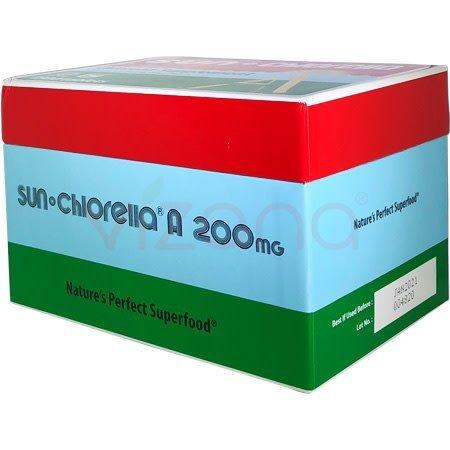 Caja Alimento Alga Marina Sun Chlorella 1500 tabs 200mg