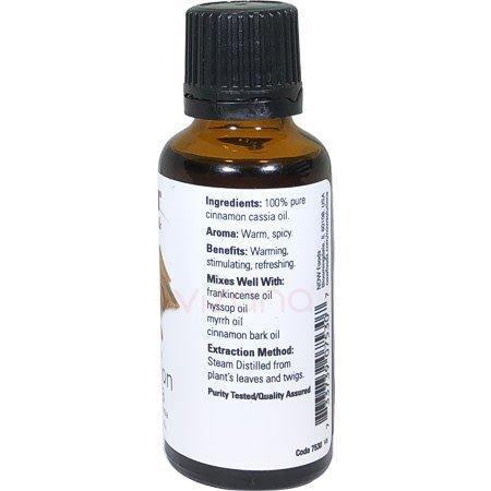 Aceite Esencial Canela Cassia Now 30ml