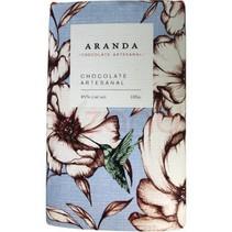 Chocolate Artesanal 85% Cacao Aranda 100 gr.