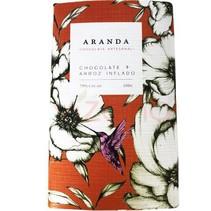 Chocolate + Arroz Inflado 70% Cacao Aranda 105 gr.