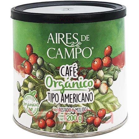 Café Orgánico Tipo Americano ADC 200 gr.