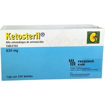 Ketosteril Tabletas 630 mg.