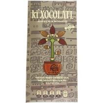 Chocolate Amargo con 85% de Cacao NIBS Ki Xocolatl 80 gr.
