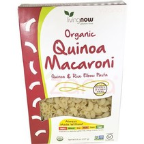 Pasta de Quinoa Macarroni Organica Now 227 gr.