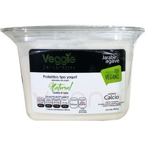 Yogurt Vegano Natural Veggie Delicatessen 454 gr.