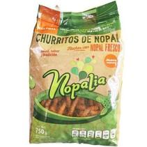 Churritos de Nopal Orgánico Nopalia 750 gr.