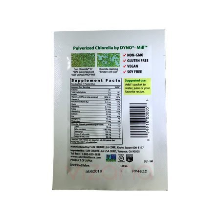 Alimento Alga marina en polvo Powder 6g