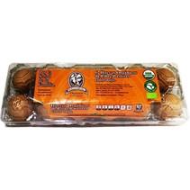 Huevo Orgánico Pollo Real 12 pz.