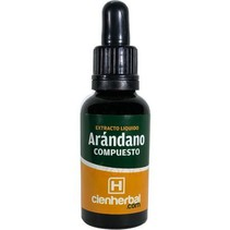 Extracto Herbal Arándano Compuesto CienHerbal 30 ml.