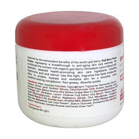 Crema de Bayas de Goji Home Health 113 gr.
