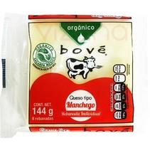 Queso Manchego en Rebanada Orgánico Bove 144 gr.